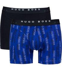 hugo boss boxershort hb 2pak logo print