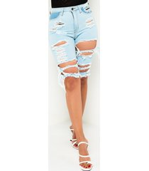 akira venus distressed denim shorts