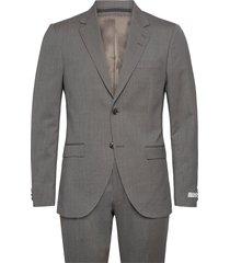 s.jamonte kostym grå tiger of sweden