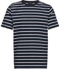 classic jersey crewneck tee t-shirts short-sleeved blå scotch & soda