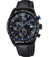 reloj chrono sport negro festina