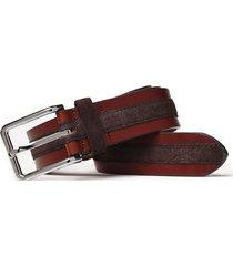 cinturón cannes marrón new man