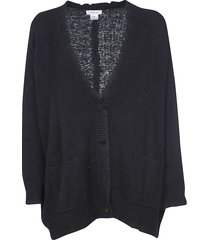 avant toi loose distressed cardigan