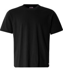 armor lux organic cotton heritage t-shirt | black | 78990-010