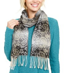 cejon ombre paisley italian scarf
