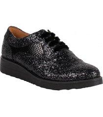 zapato glitter negro we love shoes