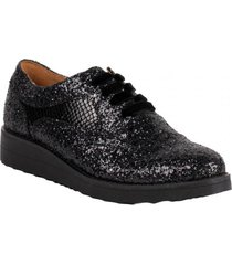 zapato glitter negro we love shoes