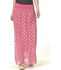 falda lunares rosado bous