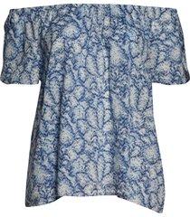 plus size women's caslon petal sleeve top, size 1x - ivory
