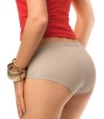 panty hipster marrón leonisa 012686