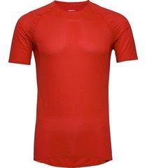 pro dry nanoweight ss m t-shirts short-sleeved röd craft