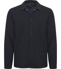 over navy clean stretch shirt