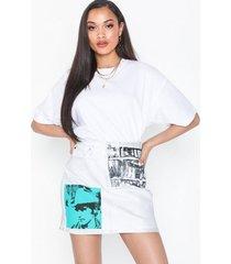 calvin klein jeans high rise mini skirt minikjolar