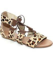sandália top franca shoes gladiadora - feminino