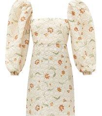 wayfaring floral print mini dress