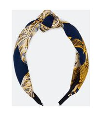 tiara larga detalhe nó navy | accessories | multicores | u