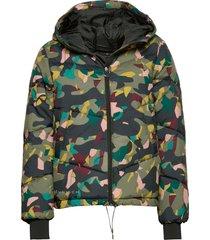alba puffer jacket gevoerd jack multi/patroon röhnisch