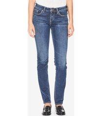 silver jeans co. suki curvy-fit straight-leg jeans