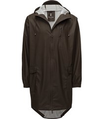 parka coat regnkläder brun rains