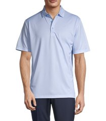 callaway men's solid short-sleeve polo - chambray - size xl