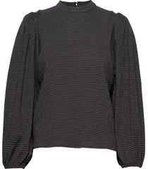 harriet blouse 11238 blouse lange mouwen grijs samsøe samsøe