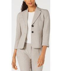 kasper two-button melange jacket