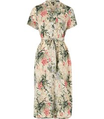 klänning vmiris flower s/s calf dress