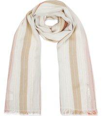 rebecca minkoff textured-stripe scarf