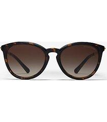 mk occhiali da sole chamonix - tartaruga (marrone) - michael kors