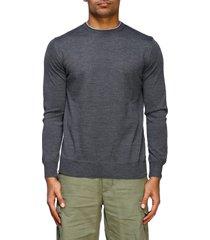eleventy sweater eleventy platinum crewneck sweater in cotton and silk