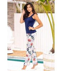 pijama mujer conjunto pantalón 11368