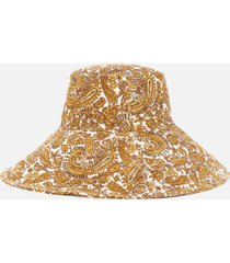 faithful the brand women's frederikke sun hat - la medina paisley print