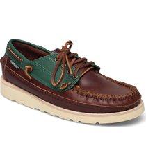 seneca båtskor skor brun sebago