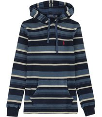 sweater winter navy heather/ polo ralph lauren ml capota rayas ppc