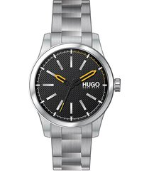 boss hugo boss men's invent stainless steel bracelet watch