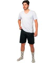 conjunto pijama básico part.b verão masculino - masculino