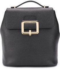 bally jayden buckle detail backpack - black