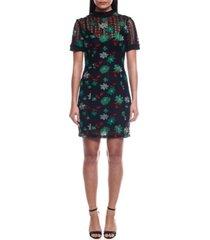 colcci isis short lace dress