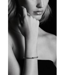 david yurman x cable bracelet, size small in silver/gold at nordstrom