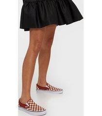 vans ua classic slip-on checkerboard slip-on picante