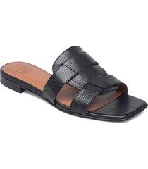 sandals 2711 shoes summer shoes flat sandals svart billi bi
