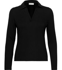 tearz blouse lange mouwen zwart fall winter spring summer