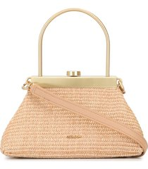 cult gaia tote cross-body bag - neutrals