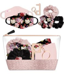 american exchange 6-pc. scrunchie gift pouch kit