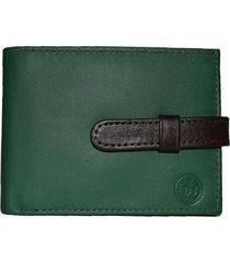 billetera taddeo verde claro bisacce