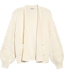 women's madewell bobble cardigan sweater