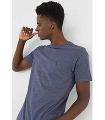 camiseta aleatory logo azul