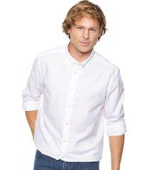 camisa blanca wrangler stretch