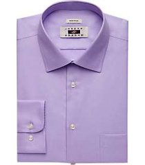 joseph abboud lavender twill dress shirt