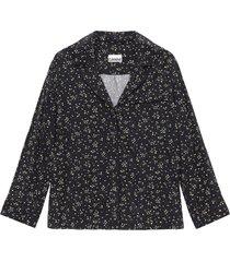 blouse bedrukt crêpe